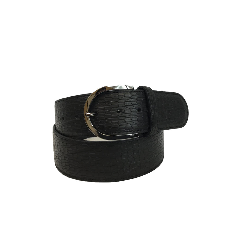 Tailored Sportsman Belt Black Bark
