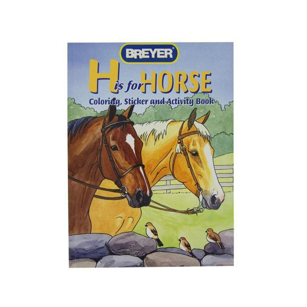 "Breyer "" H is For Horse"" Coloring Book"