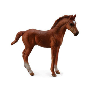 Breyer Thoroughbred Foal Standing-Chestnut