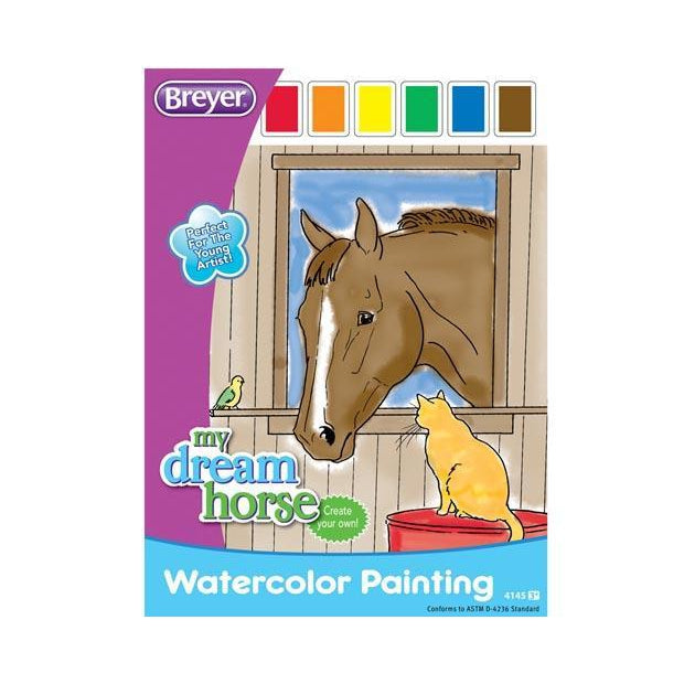 Breyer Watercolor Painting