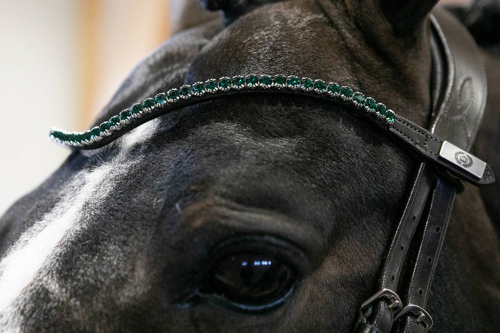 PS of Sweden Sleek Emerald Browband