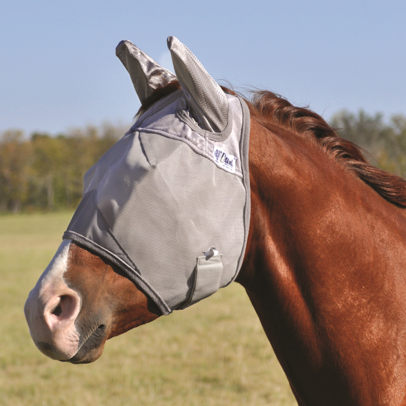 Crusader Fly Mask Standard Ears - Draft