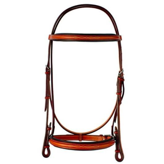 EW Bridle 5/8 Pony Fancy-Stitched Raised Padded