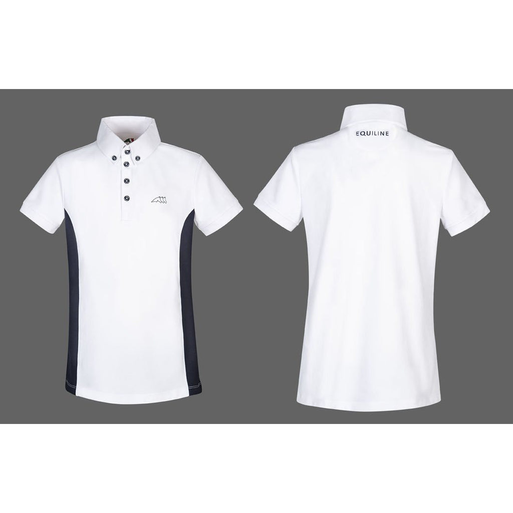 Equiline Boy's Dark Polo Shirt