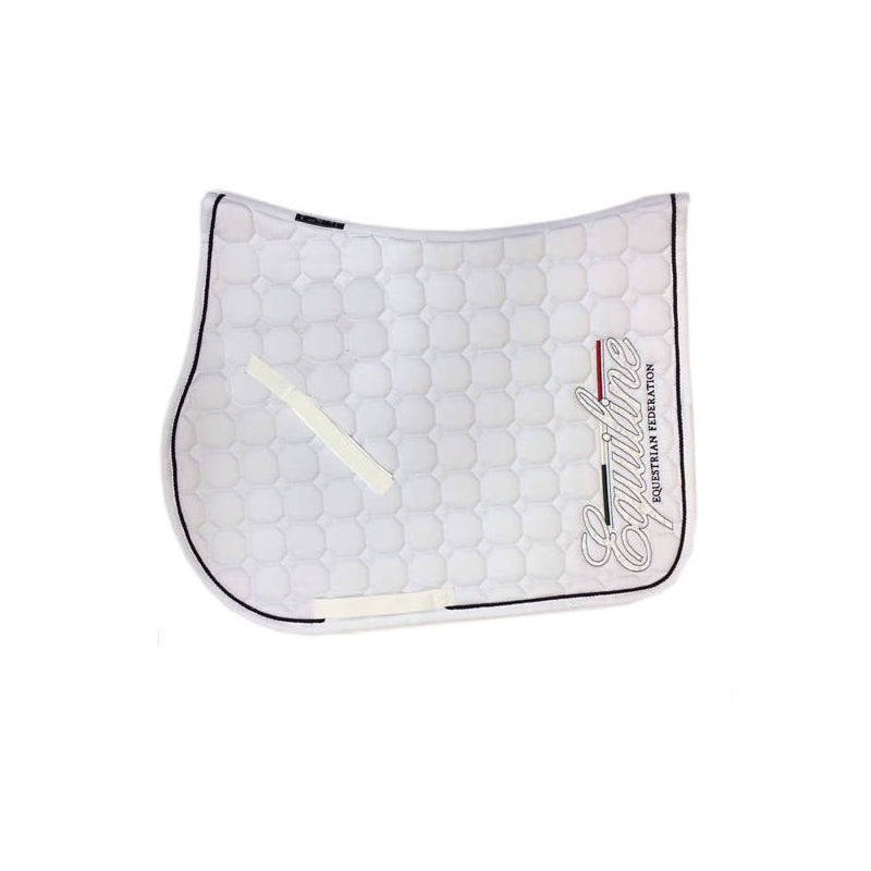 Equiline Mill Saddle Pad - White
