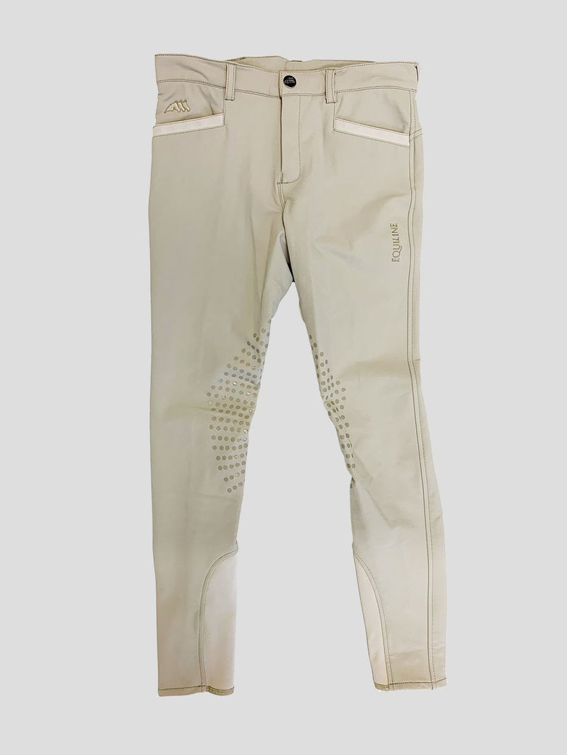 Equiline Frank Junior Knee Patch Breeches
