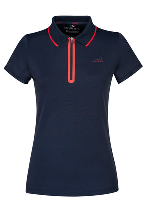 Equiline Sodalite Woman's Casual Poloshirt