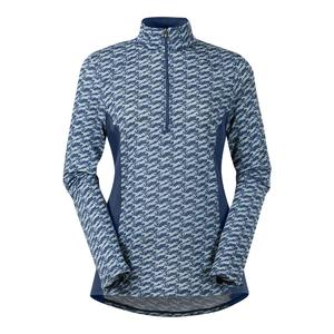 Kerrits Ice Fil Print Long Sleeve 1/4 Zip