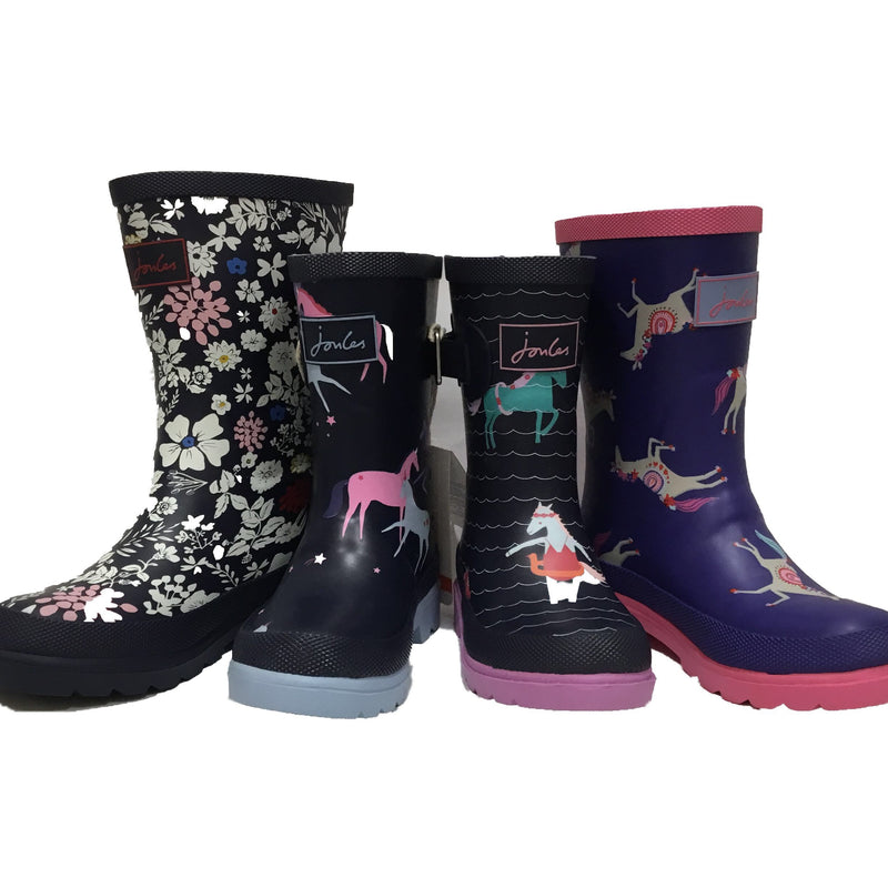 Joules Boots Youth Welly Print