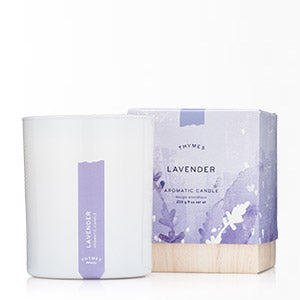 Thymes Lavender Poured Candle