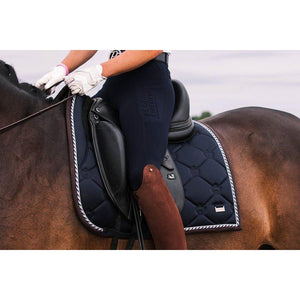 PS Of Sweden Monogram Dressage Pad - Deep Sapphire