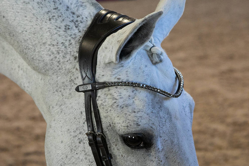 PS of Sweden Sleek Onyx Browband