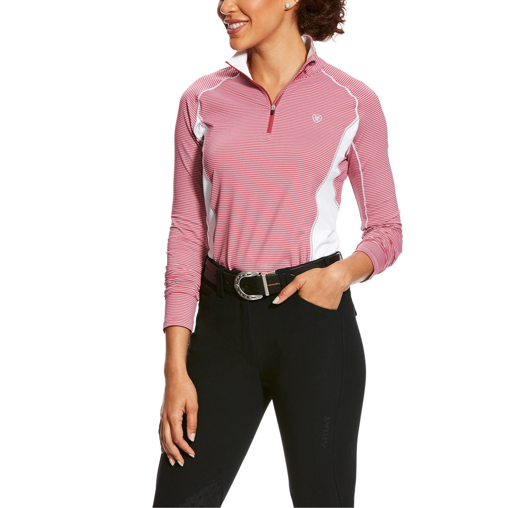 Ariat Tri Factor 1/4 Zip Stripe