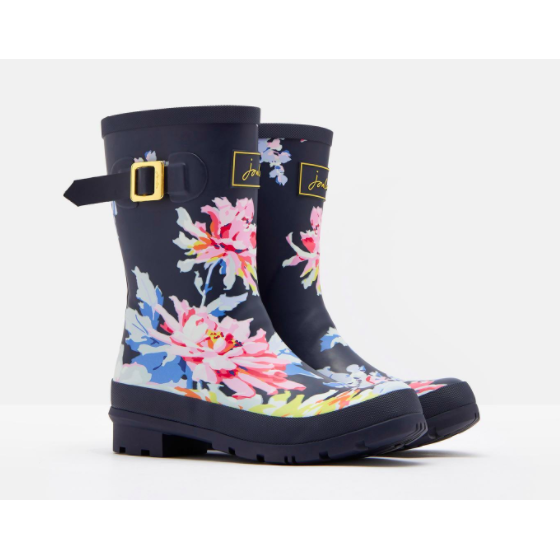 Molly Mid Height Printed Rain Boots