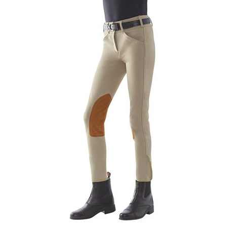 Tailored Sportsman Childrens Low Rise Front Zip Breech
