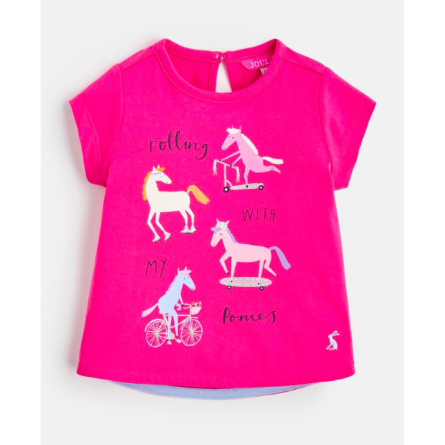 Joules Pixie Screenprint T-Shirt