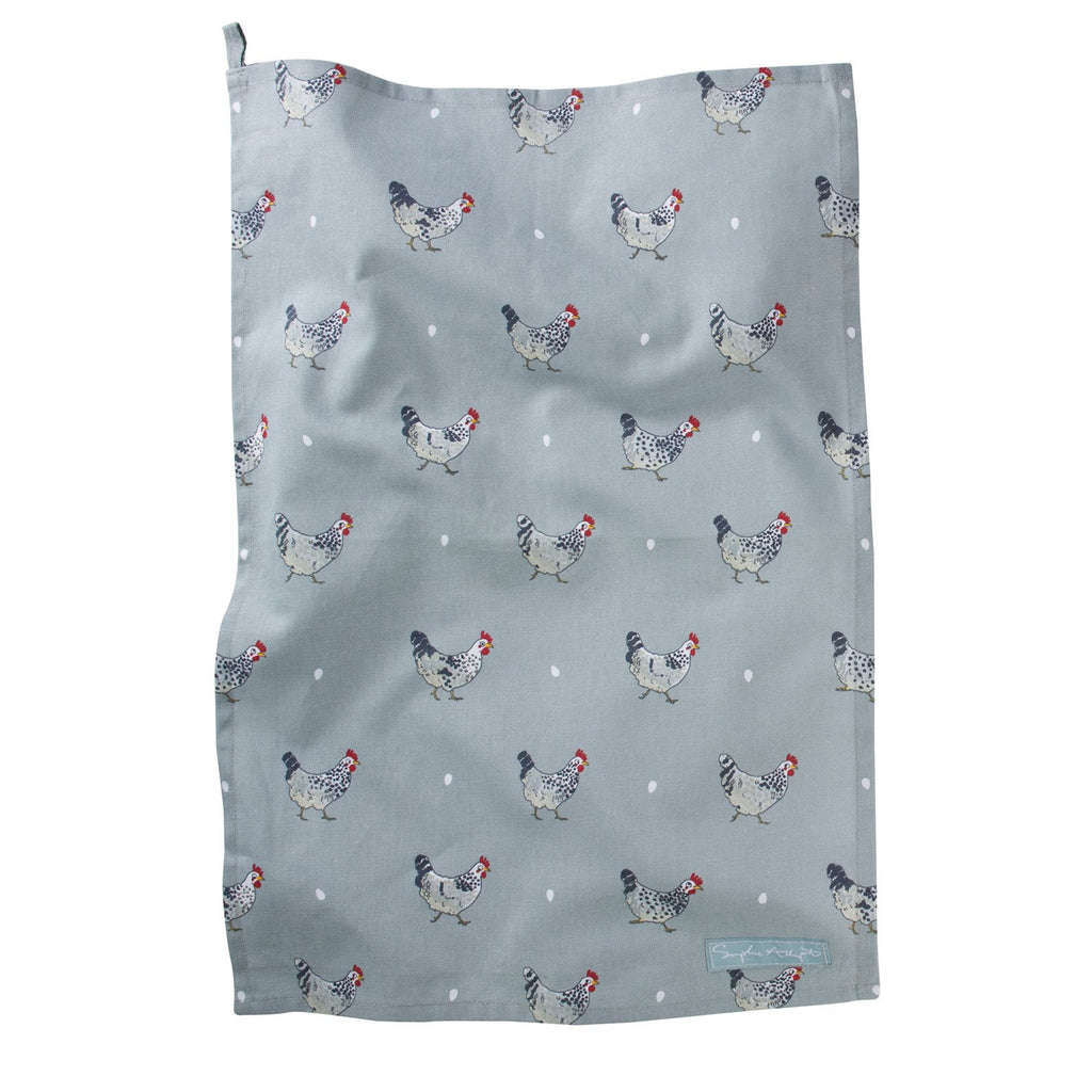 Sophie Allport Tea Towel-Chicken