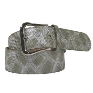 Tailored Sportsman Gold Mine Snake Skin Belt
