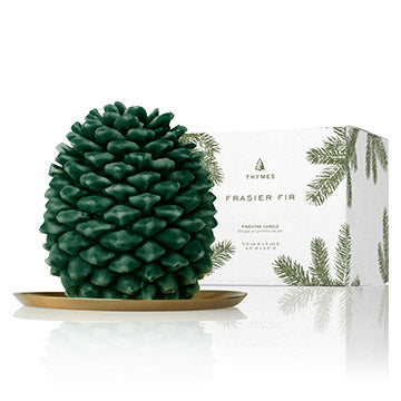 Thymes Pinecone Candle Petite