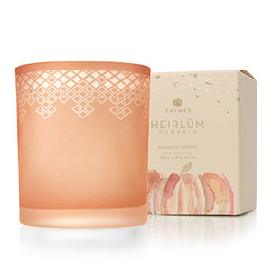 Thymes Heirlum Pumpkin Poured Candle