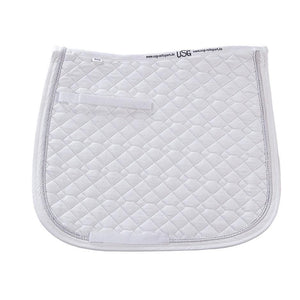 USG Dressage Saddle Pad - White