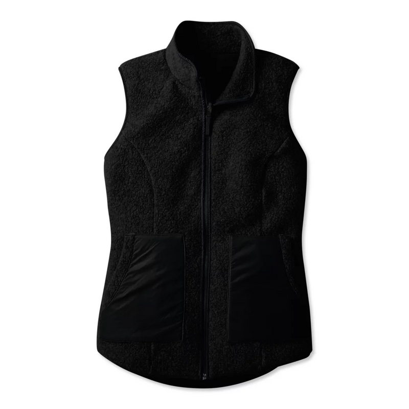 Smartwool Women's Anchor Line Reversible Sherpa Vest