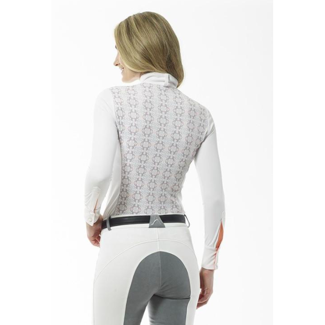 Arista Competition Shirt With Printed Back