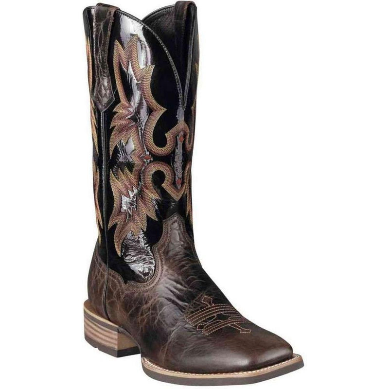 Ariat Tombstone Mens Western Boot - Thunder Brown