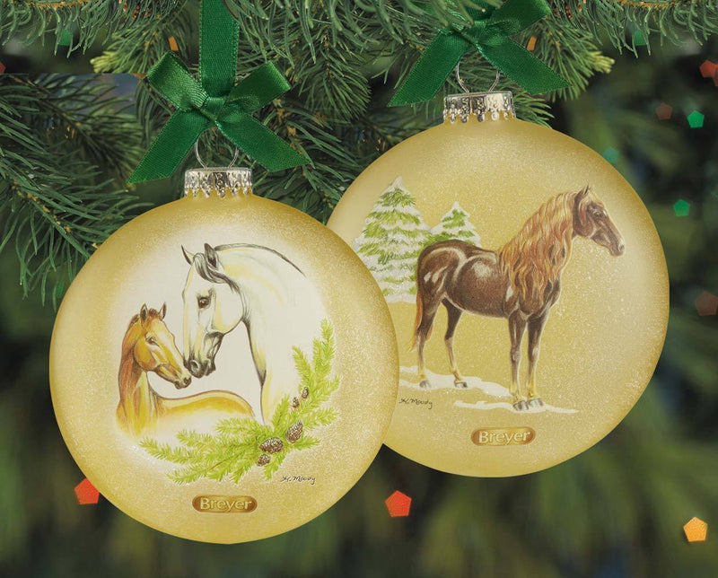 Breyer ARTIST SIGNATURE ORNAMENT - SPANISH HORSES