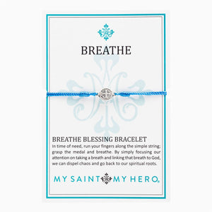 My Saint My Hero Bracelet Breath