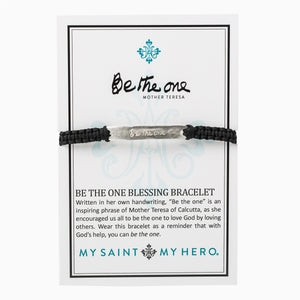 My Saint My Hero Be The One Bracelet