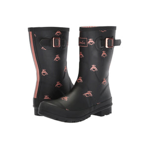 Molly Mid-Height Printed Rain Boots