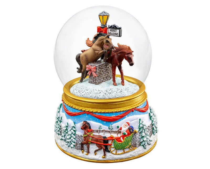 Breyer Musical Snow Globe 2019