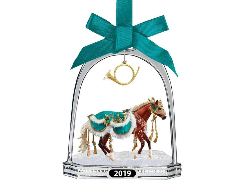 Breyer Minstrel Stirrup Ornament 2019
