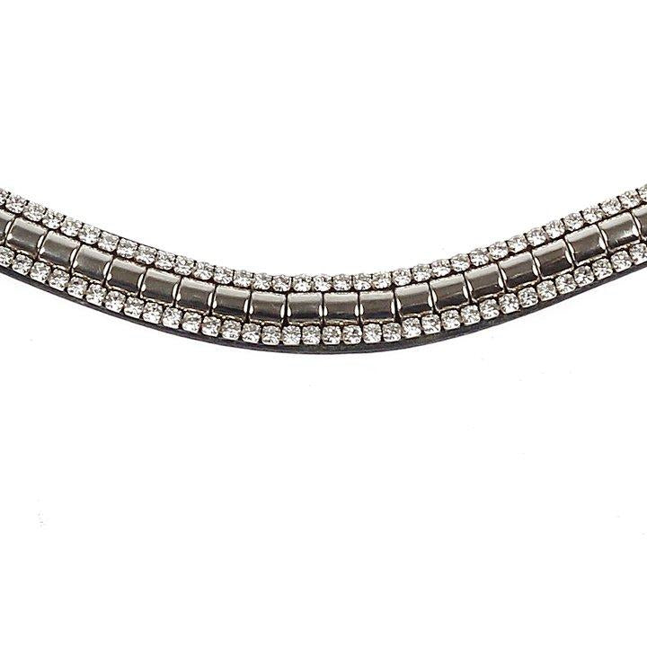 PS Of Sweden Browband Silver Twist