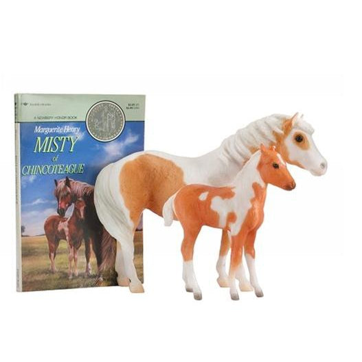 Breyer Misty & Stormy Set W/book