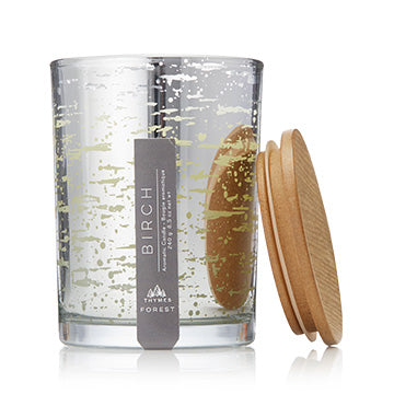 Thymes Forest Birch Poured Candle