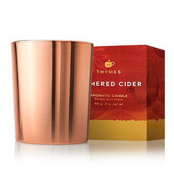 Thymes Simmered Cider Metallic 2oz Votive