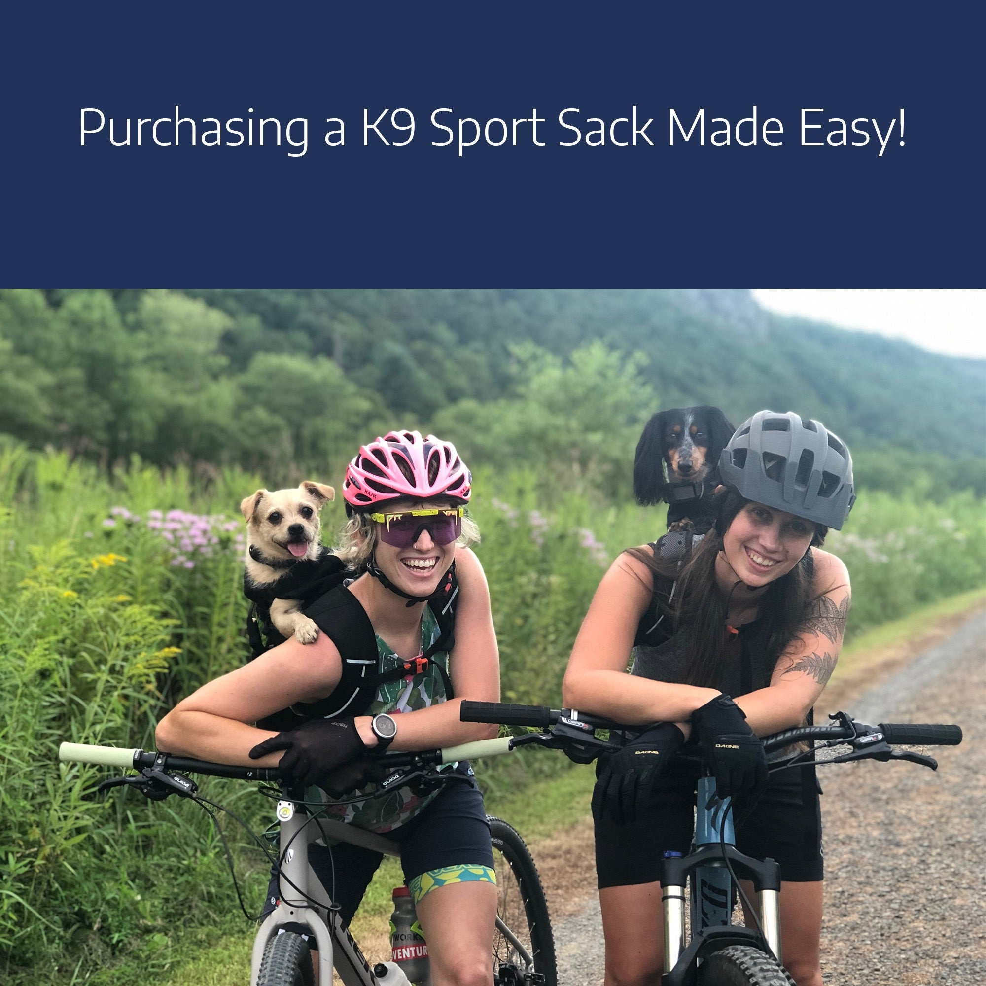 Purchasing a K9 Sport Sack Made Easy!