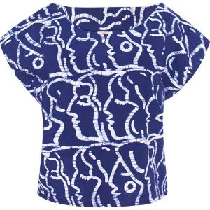 Boxy Blouse - Sisters in Indigo-Shirt-Aware... the social design project
