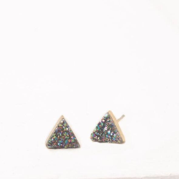 Starfish Project - Kyra; Multicolored Druzy Stud Earrings-Earrings-Aware... the social design project