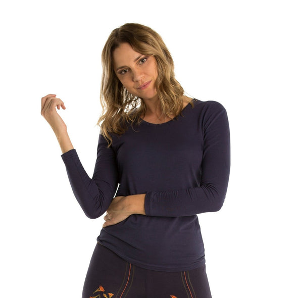 Long Sleeved Bamboo Top