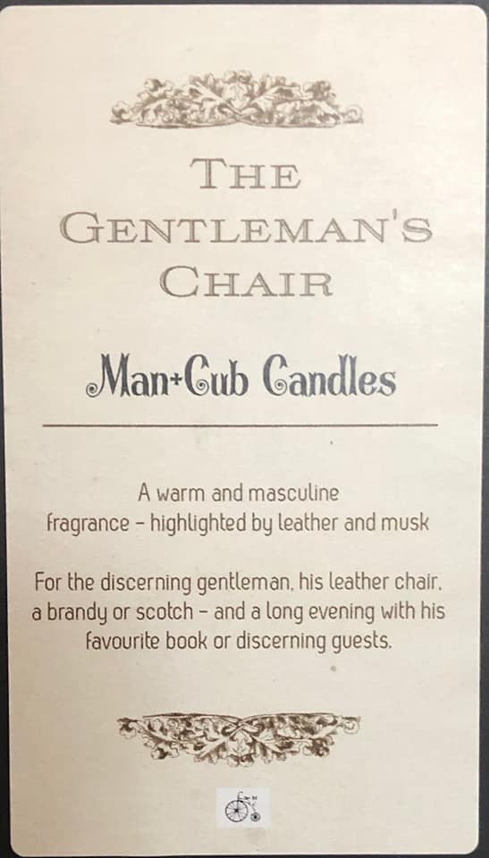 Man Cub Candles-Gift-Aware... the social design project