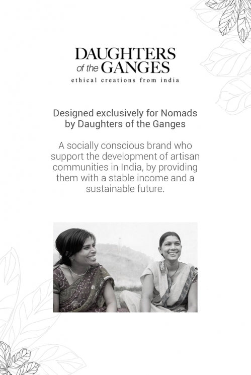 Daughters of the Ganges - Multi Bead Necklace-Aware... the social design project