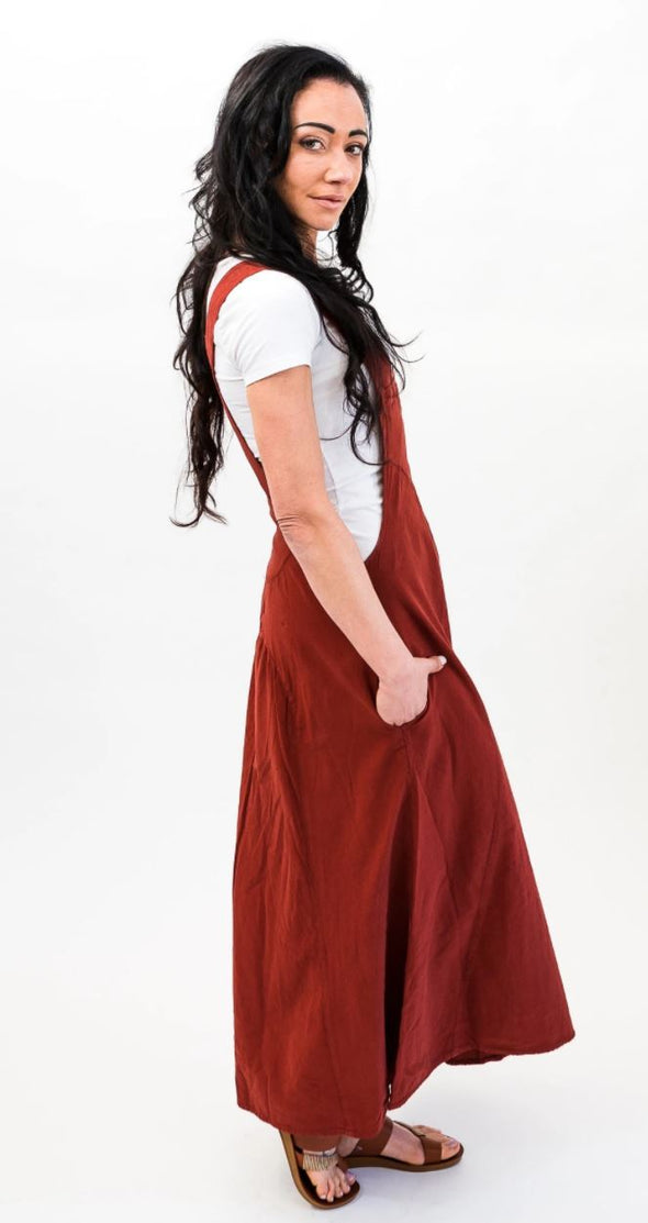Dungaree Dress ** Best seller!!**-Dungaree-Aware... the social design project