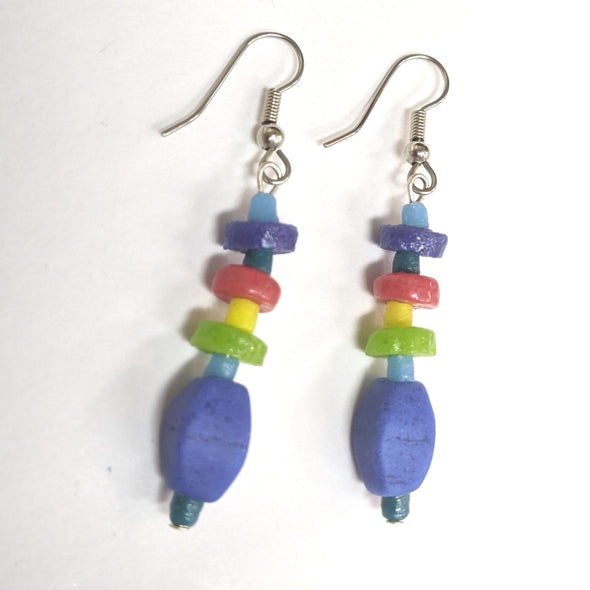 Pebbles Earrings -  Rainbow