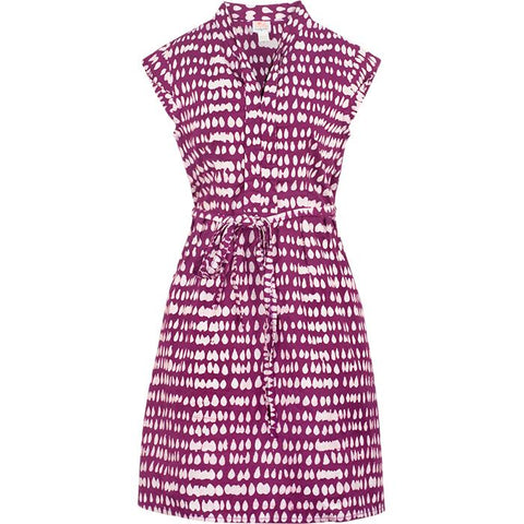 Retro Dress in Wine