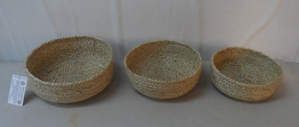 Braided Jute Bowls-Basket-Aware... the social design project