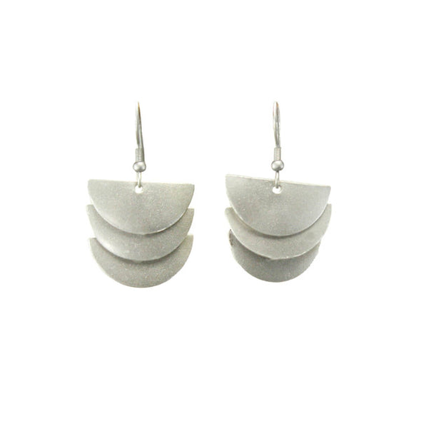 Cascading Moon Earrings