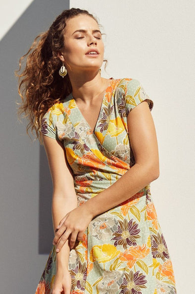 Meadow Wrap Dress - Only in Size 8 and 10